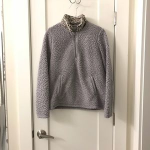 Sherpa Pullover Medium Women's